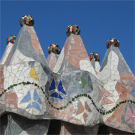 Antonio-Gaudi-Casa-Battlo-Dach