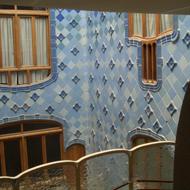 Antonio-Gaudi-Wandgestaltung