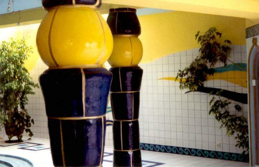 Dekorations Beispiele: Keramiksäulen
