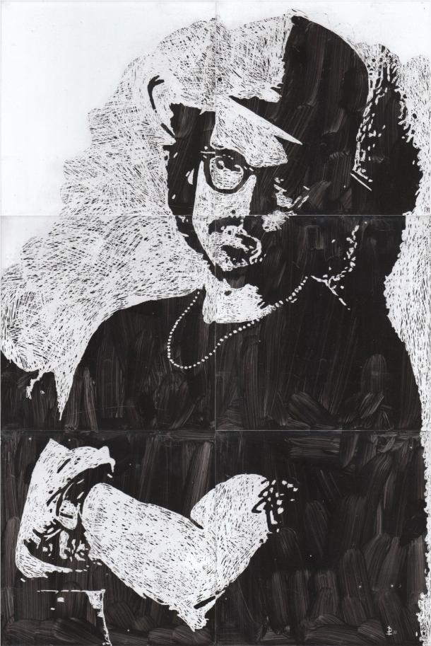 Fliesen-Bild: Johnny Depp