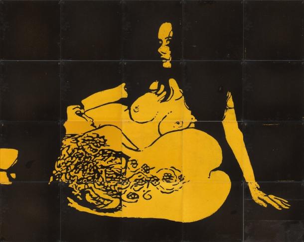 Fliesen-Bild: Tattoo