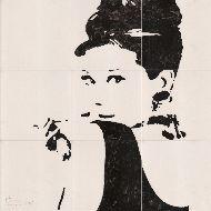 Fliesen: Audrey Hepburn