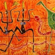 Fliesen: Tanz mit der Schlange
