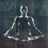 Fliesen: Yoga, gruen