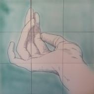 Fliesen: Helfende Hand