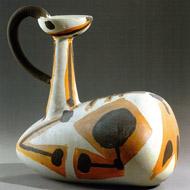 Picasso-Keramik-Pitcher