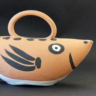 Picasso-Keramik-Chouette