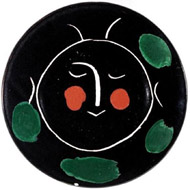 Picasso-Keramik-Teller