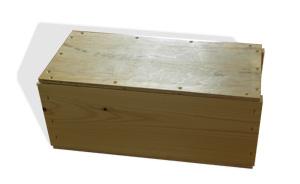 Keramik Verpackung, Holz, Box